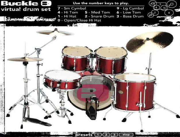play the game music virtual drum free online